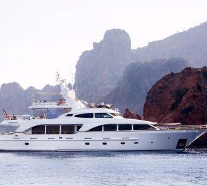 15% OFF July Charters aboard Benetti yacht SALU