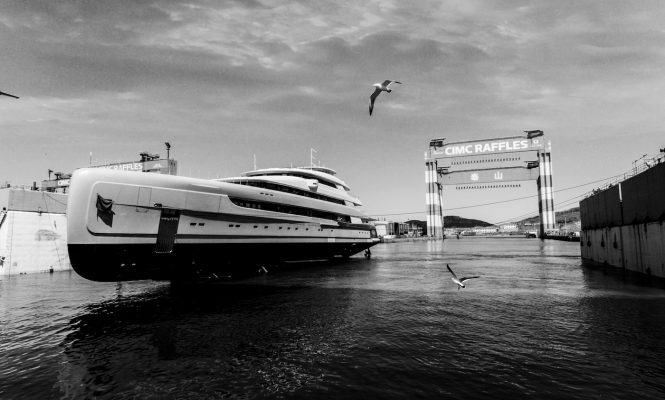 CMY launch their most important yacht to date - 88.50m MEGA YACHT ILLUSION PLUS - Credit Pride Mega Yachts