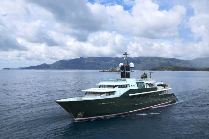 Highlander charter yacht by Feadship