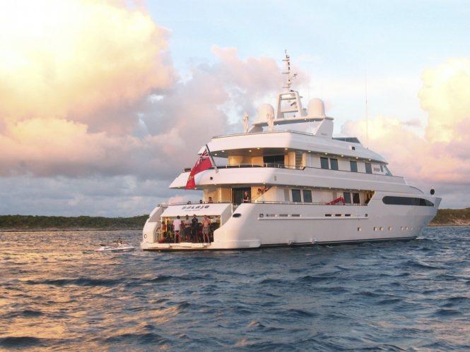 Luxury yacht BALAJU