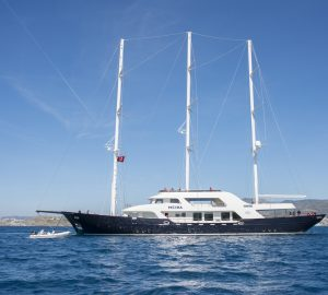 Brand-new 50m charter yacht MEIRA launched at Neta Marine