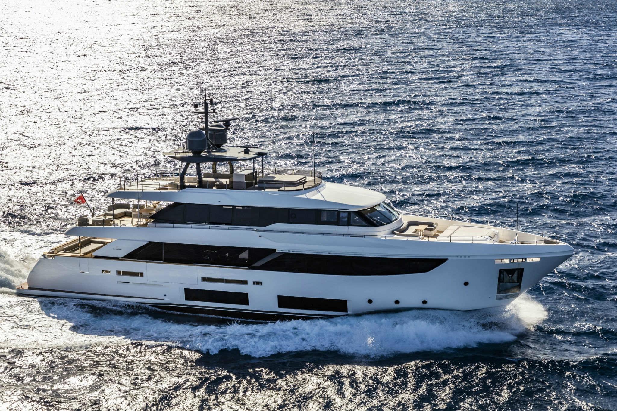 Navetta 33 motor yacht - sistership to Mirabilis