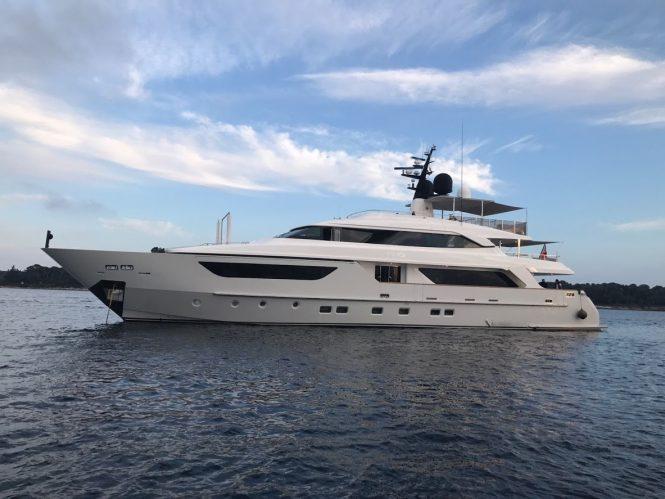 Sanlorenzo yacht AWOL