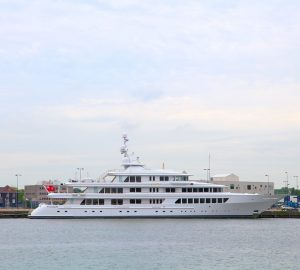Feadship welcomes 72m UTOPIA for refit just after completing 97m FAITH's upgrades