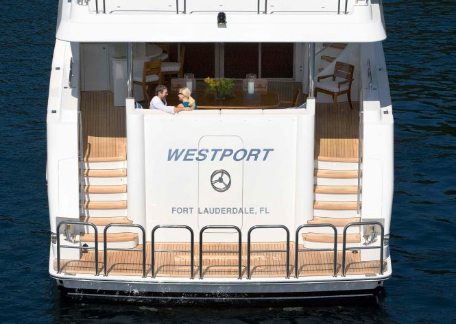 Westport 112 - sistership to hull 7762