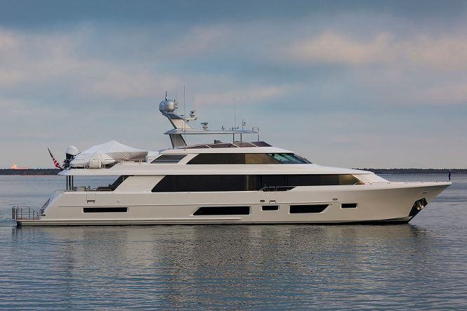 Westport 112 superyacht - sistership to Westport 7762