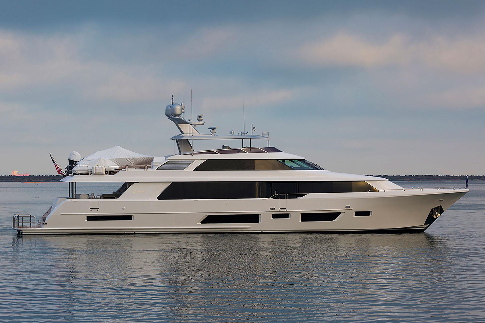 Westport 112 superyacht - sistership to Westport 7762