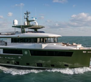 Luxury yacht HYHMA delivered by Cantiere delle Marche
