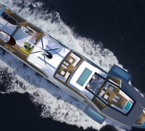 70m Yacht Concept Project Ida Pfeiffer: for the world's coldest waters