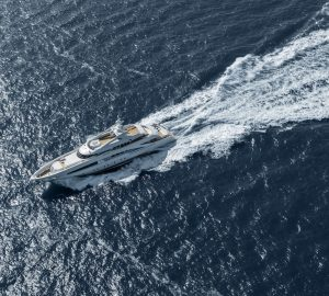 Video: 50m Superyacht White on sea trials