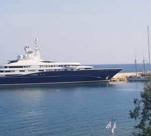 In Pictures: $200 Million Dollar Mega Yacht AL MIRQAB in Greece