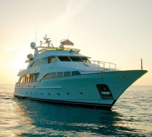Stress-free Bahamas vacations aboard 35m BRUNELLO at reduced charter rate