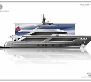 Cantiere delle Marche to build 40m MG 129 Superyacht Project