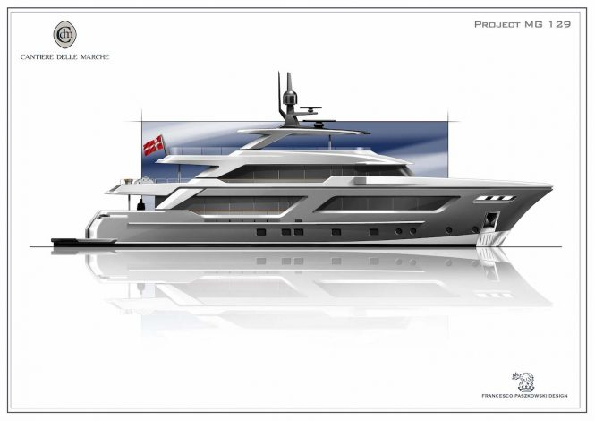Cantiere delle Marche to build PROJECT MG 129