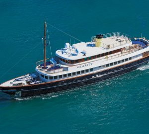 '8 for 7' Yacht Charter Special aboard 49m CLARITY in the Bahamas