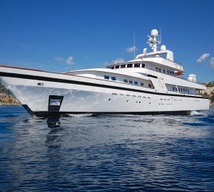 No Delivery Fees for 43m Elegant Classic Charter Yacht IL CIGNO