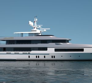 Codecasa to build new 55 metre superyacht, Hull C123