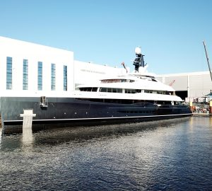 Abeking & Rasmussen superyacht Elandess launched in Germany