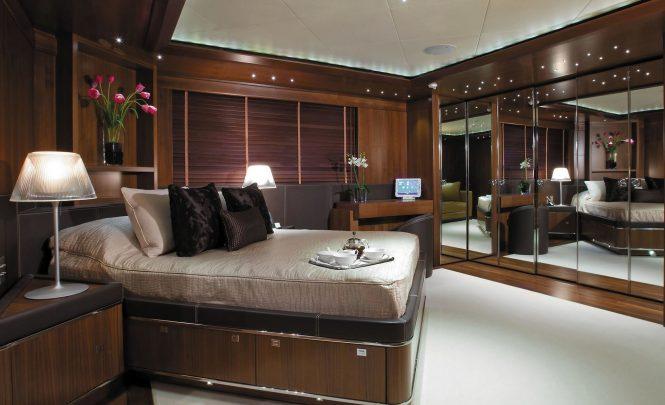 Elegant accommodation aboard MARAYA