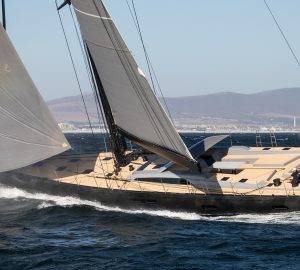 Sailing Yacht Seatius heads to Mediterranean on her maiden voyage