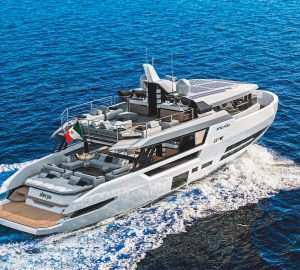 First Sherpa XL motor yacht from Arcadia Yachts currently under construction