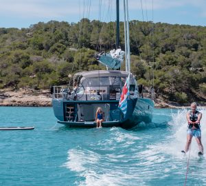 23m sailing yacht J SIX offering 10% off charter from Corsica to Northern Sardinia