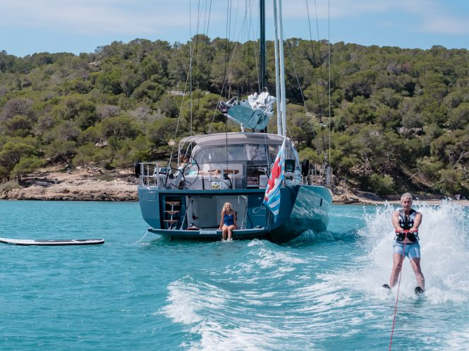 Fantastic charter holidays and water toys aboard J SIX yacht