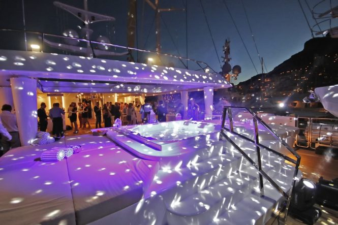 Fantastic yacht for events and parties