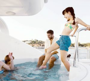 47m OASIS is offering 10% off Greek yacht charters in June
