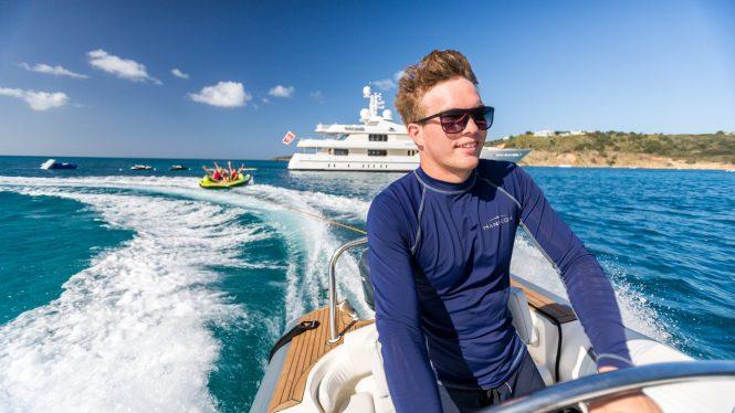 Fun luxury yacht charters with HANIKON