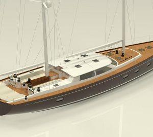 In Build: 25m Hoek-Designed Sailing Yacht