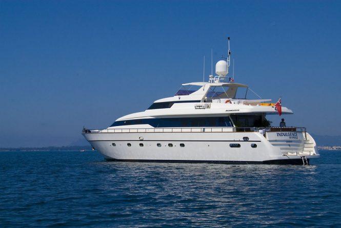 INDULGENCE OF POOL yacht
