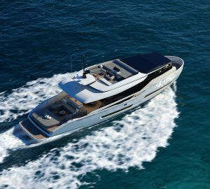 Motor Yacht ONE - ISA Extra 76 delivered to her owner in the Mediterranean