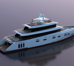 CCN Launched the 41m Explorer Yacht Kanga
