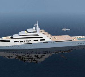 Lurssen builds the 109m mega yacht Project Icecap