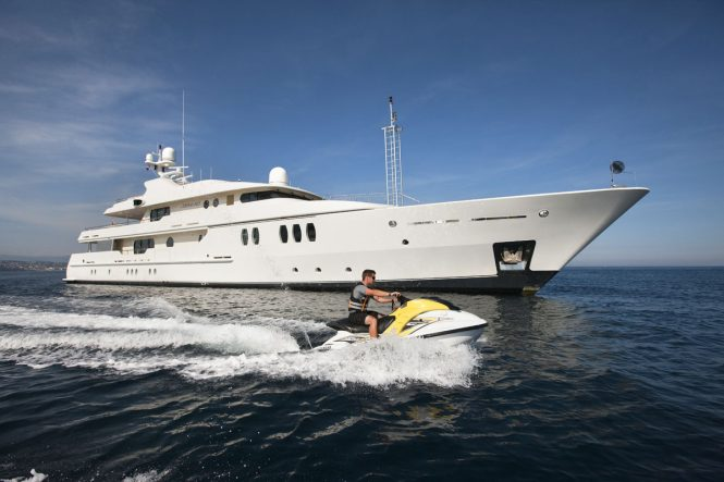 MARLA offers fabulous selection of toys for fun charter vacations