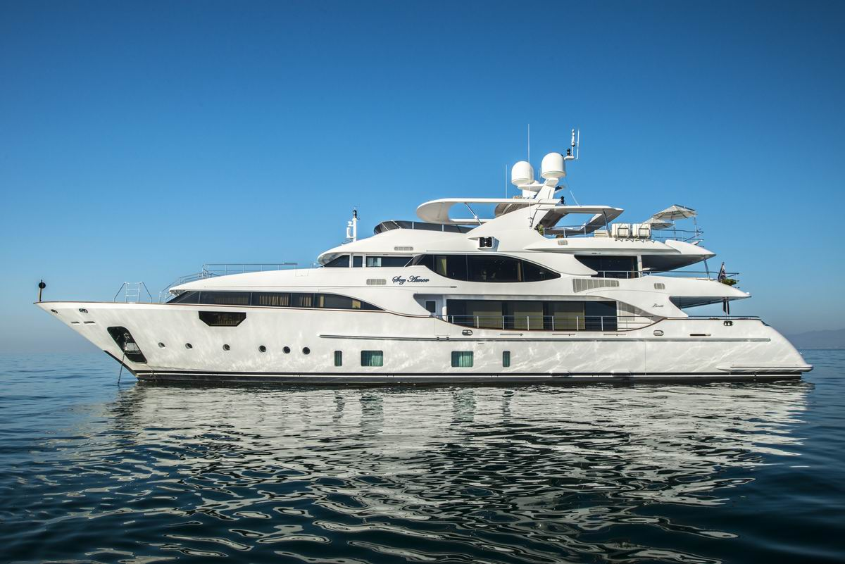 M/Y SOY AMOR - Main profile of the superyacht