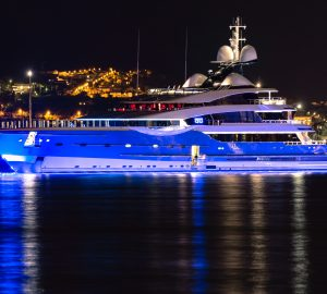 Six magnificent luxury yachts spotted in Mediterranean charter grounds