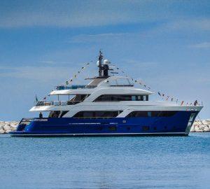Cantiere delle Marche launch Acciaio 105 Motor Yacht GATTO