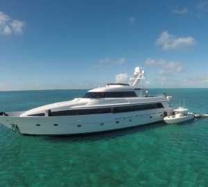 'No Delivery Fees' for newly-refitted charter yacht SEA DREAMS in the Bahamas