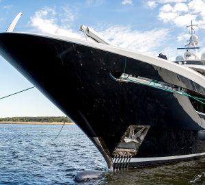 40m Yacht Viatoris Hits the Water at Conrad Shipyard