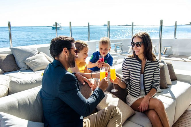 Quality time with family aboard Motor Yacht OURANOS