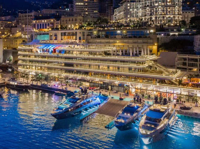 Riva 110' superyacht Dolcevita World Première in Monaco