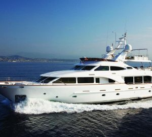 50% off selected dates in June aboard 35m charter yacht SALU