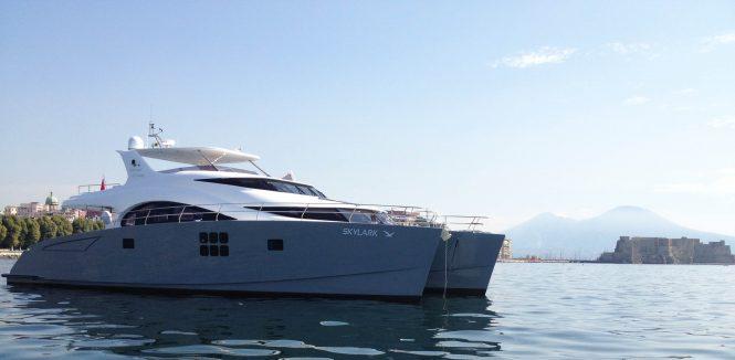 SKYLARK Sunreef catamaran yacht