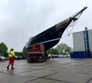 Sailing yacht Meteor returns from refit