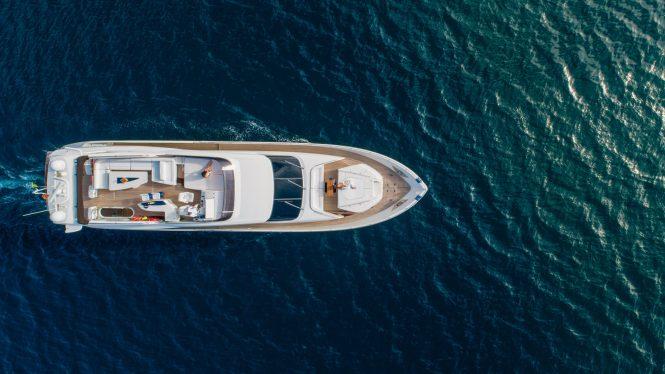 Saint Anna 1 charter yacht for Eastern Mediterranean vacations