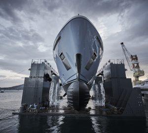 Sanlorenzo motor yacht Ocean Dreamwalker III launched in Italy