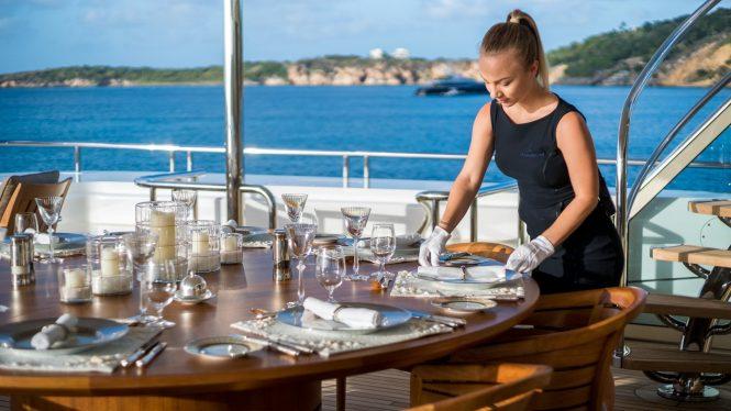 Top-class luxury service on board with HANIKON yacht