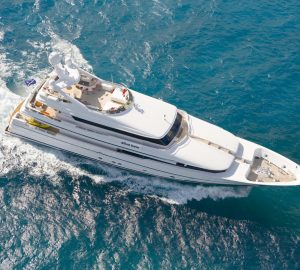 Newly-refitted 41m Lurssen superyacht TATYANA returns to West Med charter market